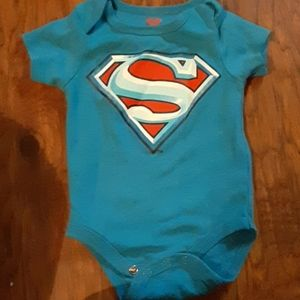 Blue Superman Onesie